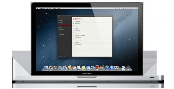 Reminders de OS X 10.8
