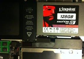 SSD instalado en el MacBook Pro