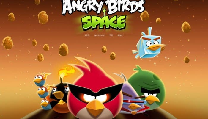 Nuevo Angry Birds Space