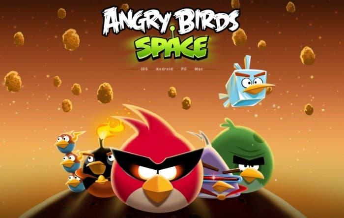 Nuevo Angry Birds Space