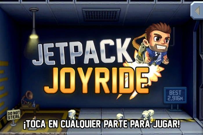 Jetpack Joyride para iPhone 4