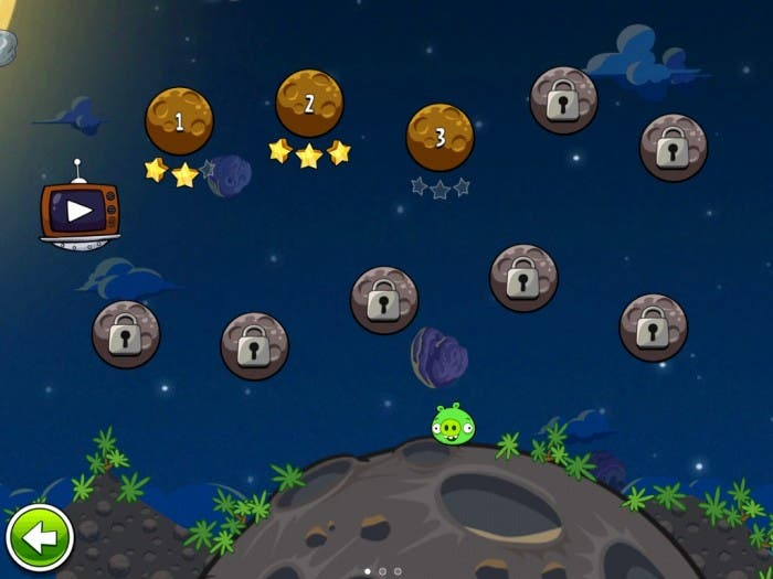 Vive la gravedad con Angry Birds Space