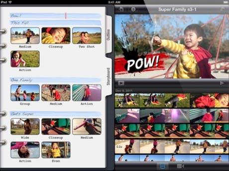 Nueva versión de iMovie para iPad