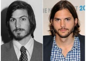 Kutcher y Jobs