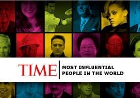 Mosaico personas más importantes según time