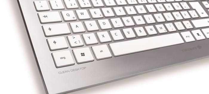 Zoom sobre el teclado Cerry