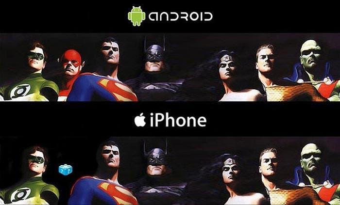 Ausencia de Flash entre los superhéroes