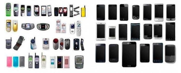 Evolución de los móviles antes y después del iPhone