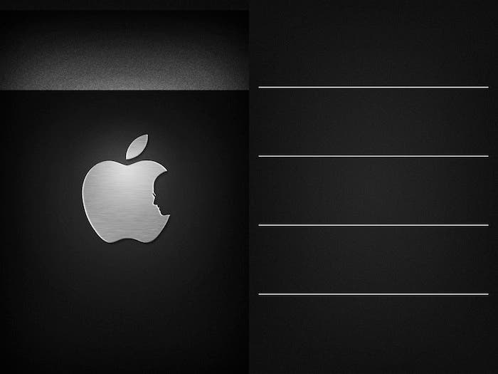 Wallpaper conmemorativo de Steve Jobs en Wall4phone