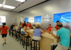 Genius Bar de una Apple Store