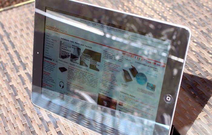 iPad al sol