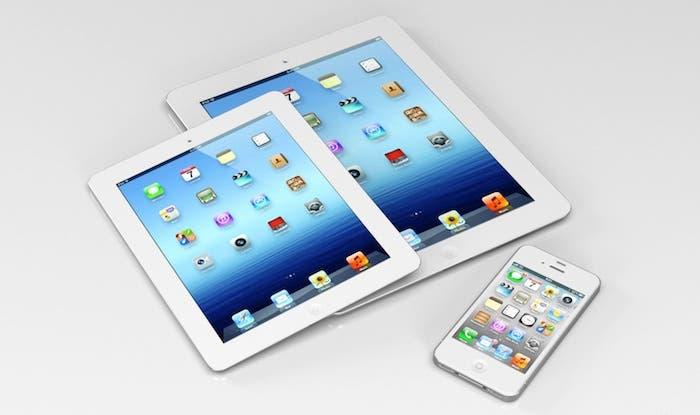 Así sería un iPad mini