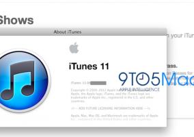 Captura de pantalla de iTunes 11 beta