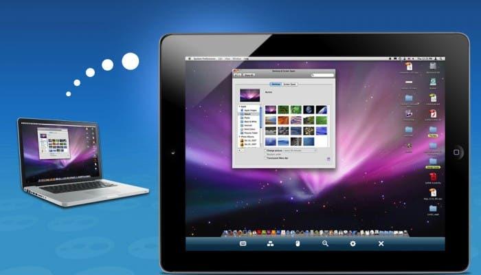 logmein entre ipad y macbook