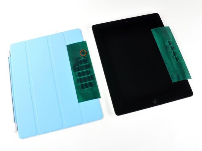 Materiales construcción del Smart Cover del iPad
