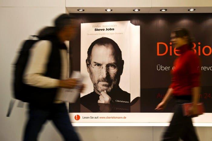 Biografía de Steve Jobs, éxito de ventas