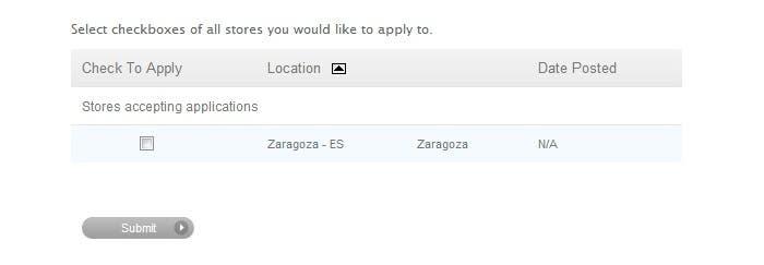 store zaragoza en la web de empleo