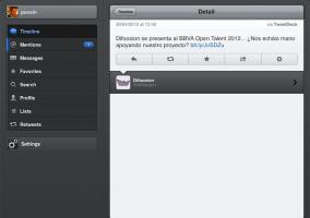 Actualización 2.3 de vista detallada en Tweetbot