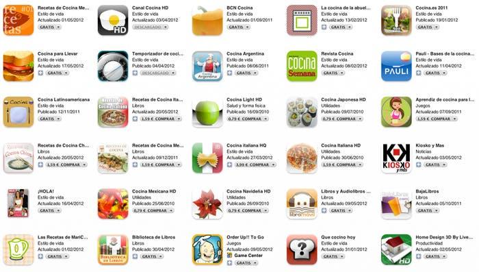 Tenemos multitud de aplicaciones disponibles