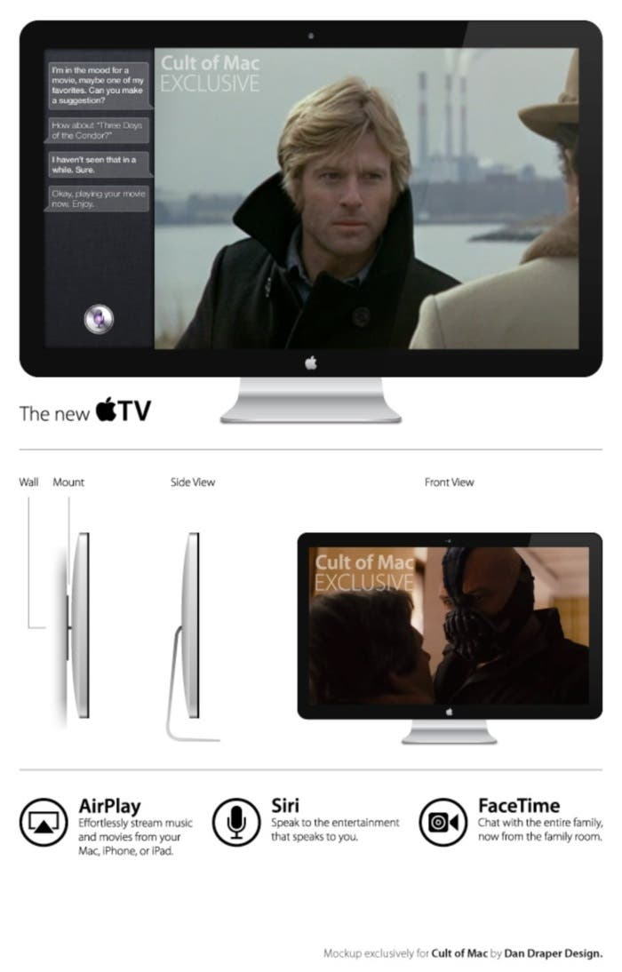 Apple TV Mockup