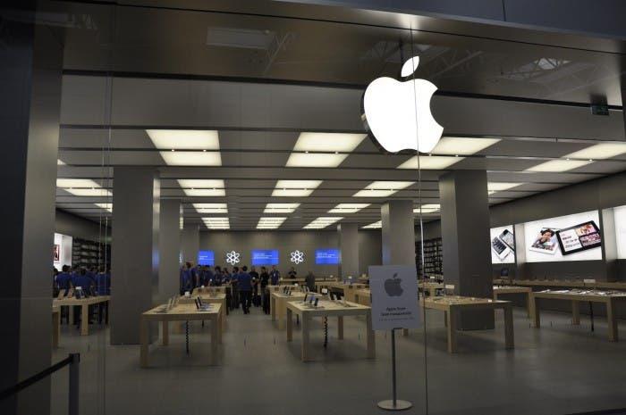 Entrada de la Apple Store de Nueva Condomina