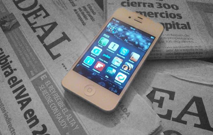 iPhone Newspaper