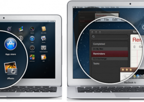 Recreación de potátiles Mac con pantalla Retina