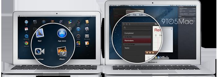 Potátiles Mac con pantalla Retina