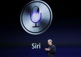 Tim Cook en la presentación de Siri