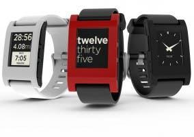 Modelos disponibles del reloj Pebble