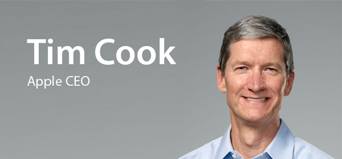 Tim Cook CEO de Apple anoche en AllThingsDigital