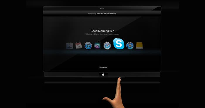 Concepto de Apple TV