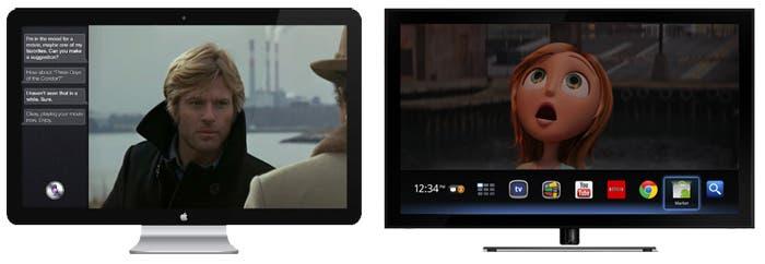 Concepto de iTV y Google TV 2.0