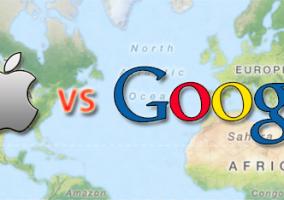 La batalla por la cartografía móvil entre los dos gigantes acaba de comenzar