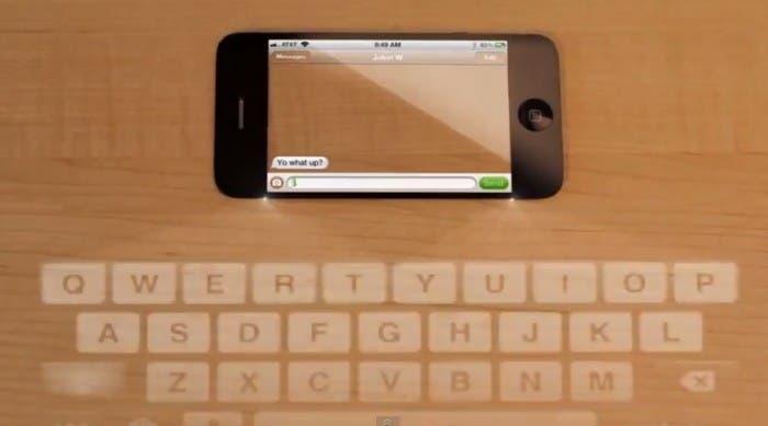 Dakota Adney, concepto iPhone transparente