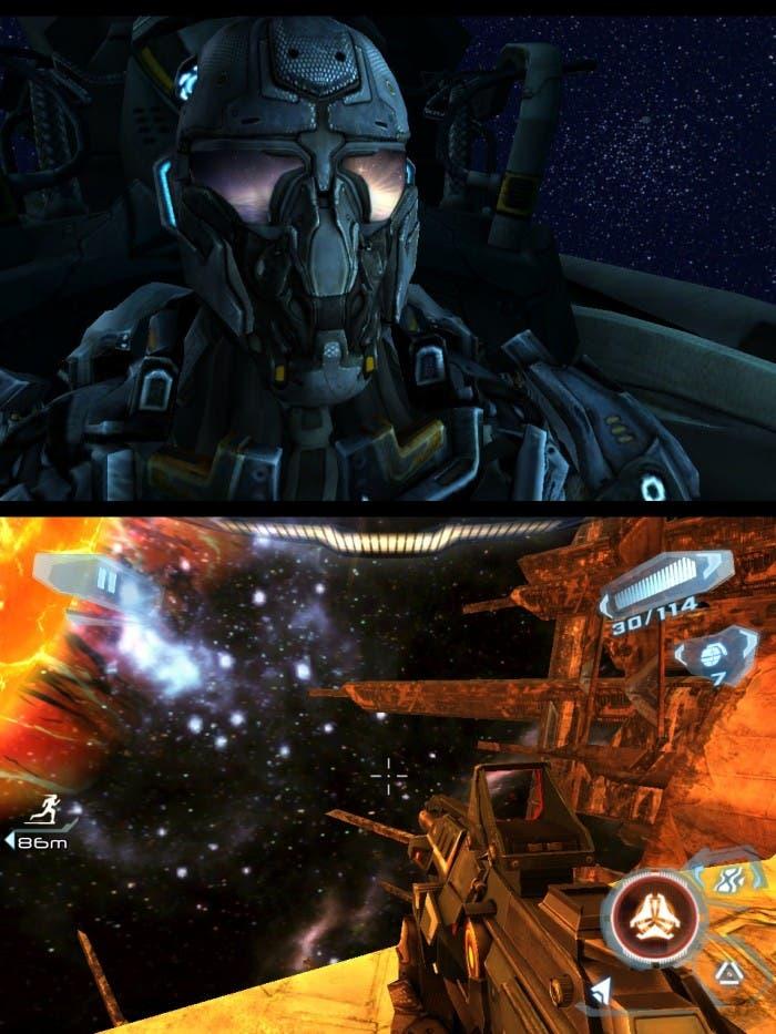 Muestras de los gráficos del juego
