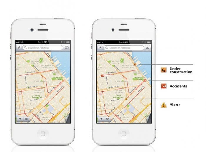 WWDC 2012 | Nuevos Mapas en iOS