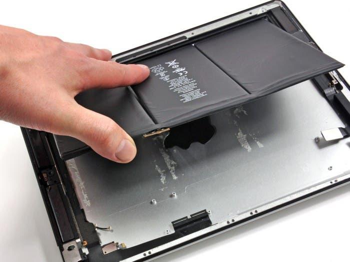 Batería del nuevo iPad