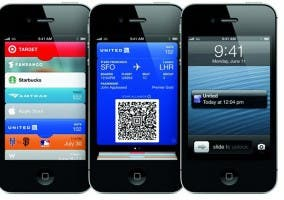 Capturas de Passbook en el iPhone