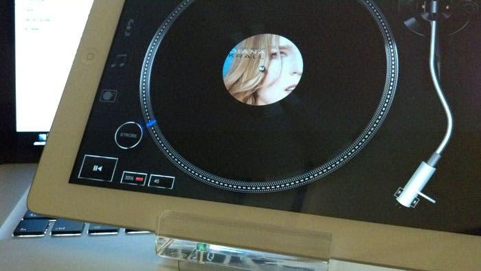 Vinyl tap y escucha música con estilo