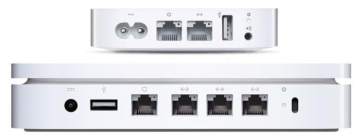 Comparativa entre AirPort Express y AirPort Extreme