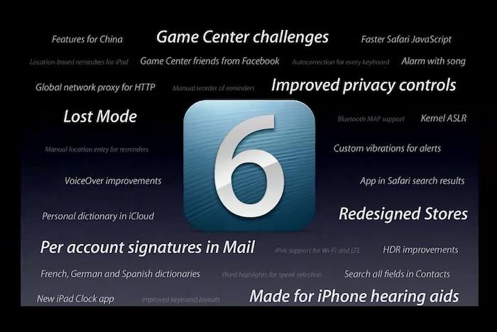 Caracterìsticas de iOS 6