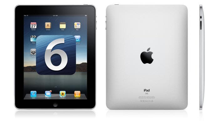 iOS 6 y el iPad original