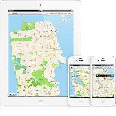 iPhone y iPad con Mapas en iOS 6