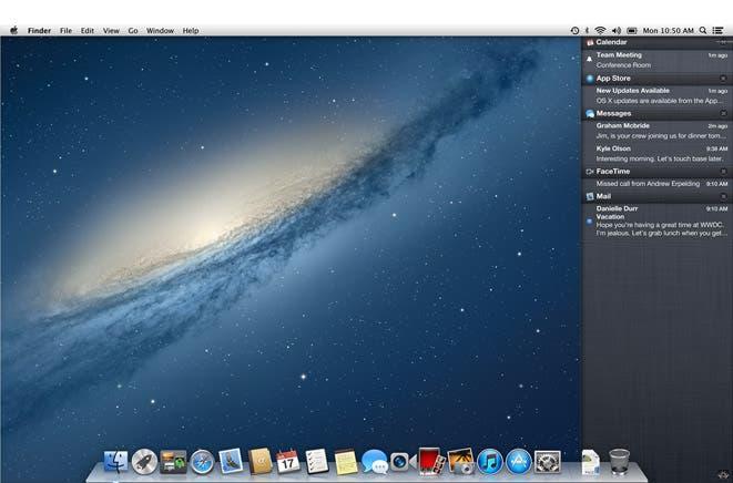 Novedades en OS X Mountain Lion