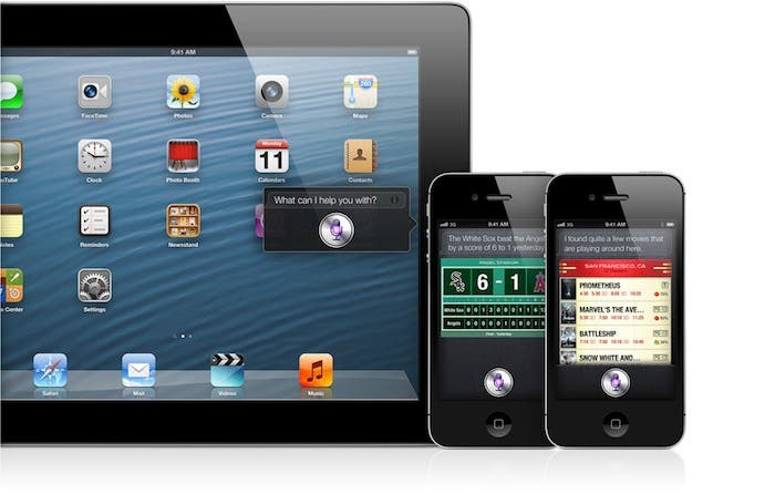 Siri en el iPad y iPhone 4S