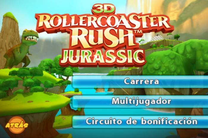 Captura de la pantalla principal del juego