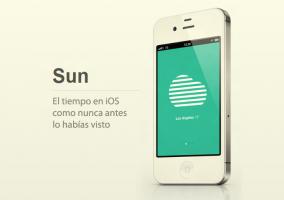 Sun: el tiempo en iOS como nunca antes lo habías visto