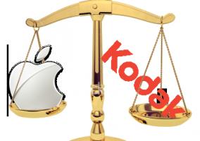 Apple y Kodak en los juzgados