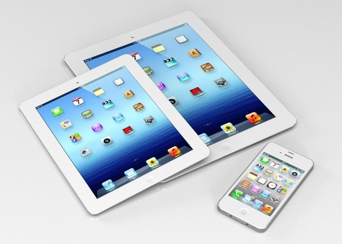 Imagen del supuesto iPad mini